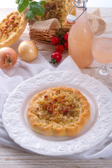 Onion tart and Federweisser(Nouveau)