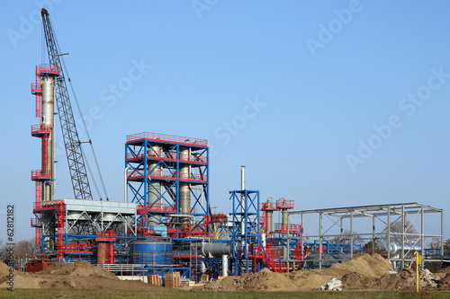 new factory construction site industry zone