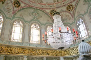 Tomb of Ottoman sultan Abduhamid I,Istanbul-Interior