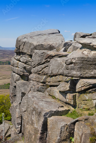 Stanage Edge Derbyshire England