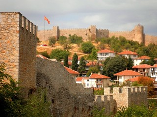 Fortress in Ohrid Macedonia