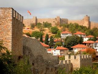 Fortress in Ohrid Macedonia