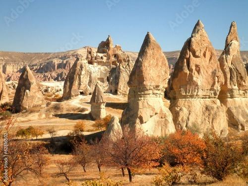 Fall in Cappadocia