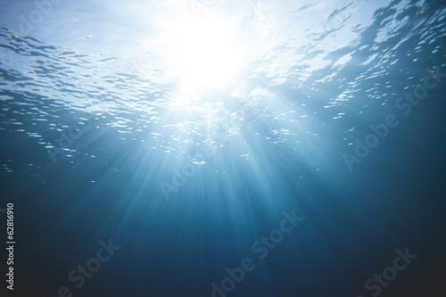 Fototapeta Underwater Light Scene