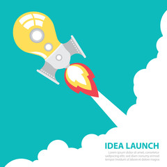 idea rocket launch