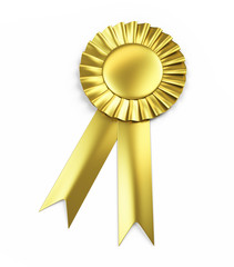 Golden Award Ribbon
