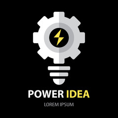 Power idea symbol