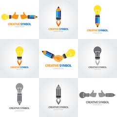 Creative symbol set