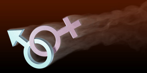 sex symbol with smoke