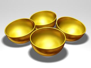golden rice bowls