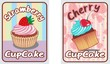 card-set-cupcake-retro
