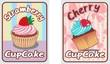 card-set-cupcake-retro