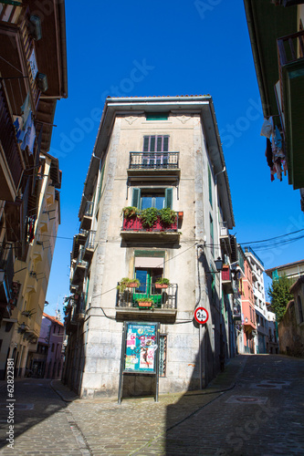 Street of Lekeitio, Basque Country