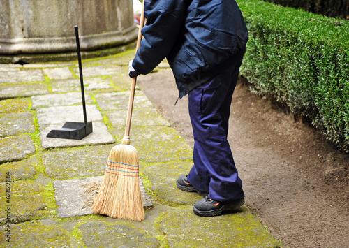 Cleanup worker, sweeper
