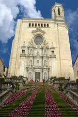 Girona Cathedral, Spain