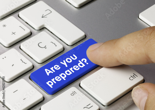 Are you prepared? Keyboard
