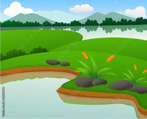 Beautiful Pond And Lake Nature Landscapes