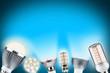 Leinwanddruck Bild - LED light concept