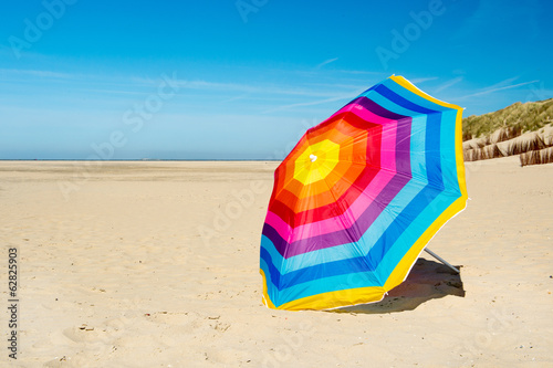 Parasol at the beach