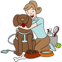 Taking Care of Dog