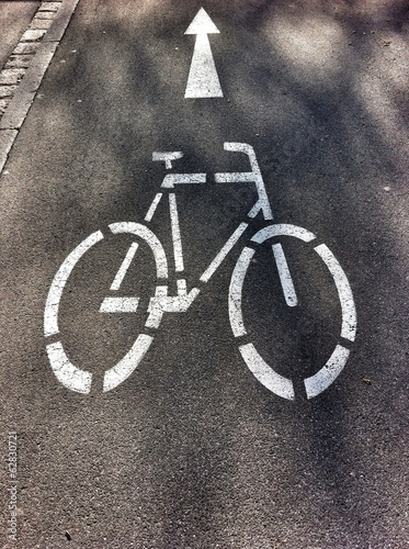 Richtung Radweg