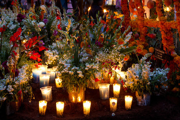 The Day of the Dead is celebrated in the towns and villages around Lake Patzcuaro. Preparations include major cleaning and repair of the local cemeteries.