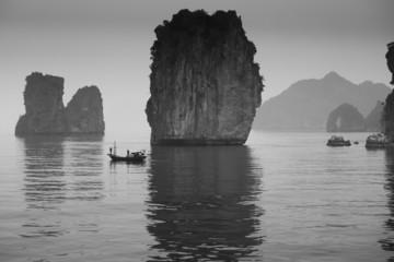 Fishermen, Halong Bay, Vietnam