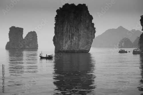 Fishermen, Halong Bay, Vietnam