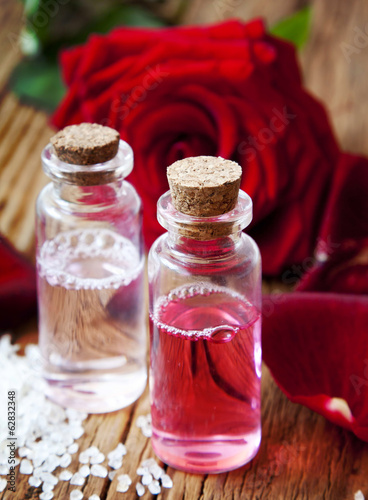 Rose Essence Bottles