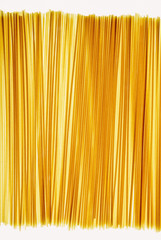 Organic spaghetti pasta noodles (pasta is made of organic durum wheat semolina)