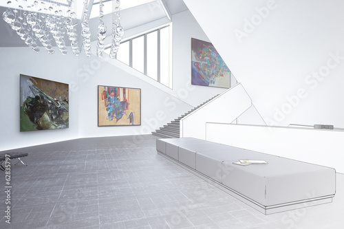 Inside a Art Gallery (draw)