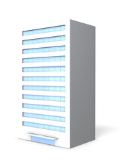 Miniature of office building