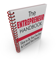 Entrepreneur Handbook Learn Advice Skills Information Manual Hel