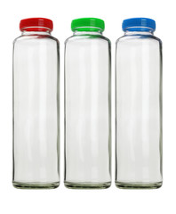 Thee Glass Containers