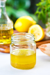 Lemon dressing