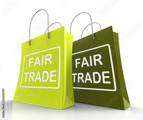 Fair Trade Bag Represents Equal Deals and Exchange