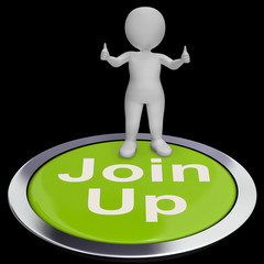 Join Up Button Shows Subscription Or Registration