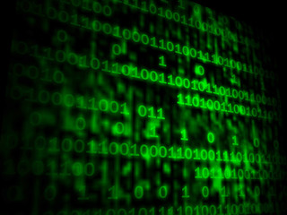 Matrix Code Copyspace Shows Digital Numbers Programming Backgrou