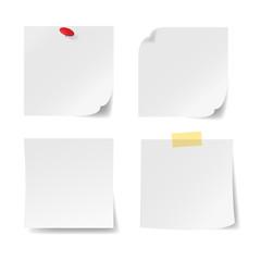 Notizzettel-Set, Reißnagel