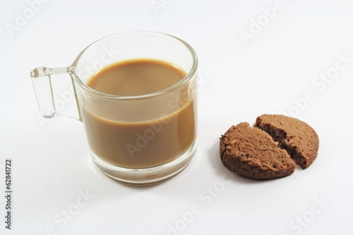 Coffee, cookie, Chocolate Chip