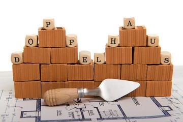 Doppelhaushälften Symbolfoto Bauträger