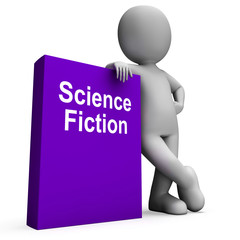 Science Fiction Book And Character Shows SciFi Books