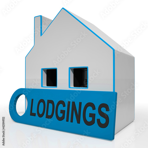Lodgings House Means Room Or Apartment Available