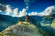 Leinwanddruck Bild - Machu Picchu