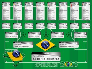 Spielplan 2014