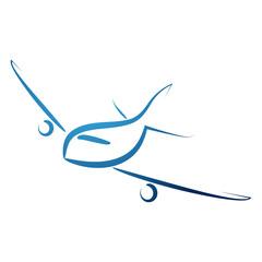 samolot logo