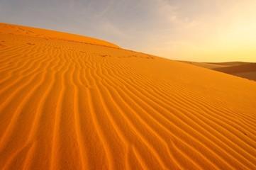 Sand Pattern on Sand Dune