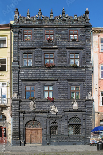 Black House in Lviv, Ukraine