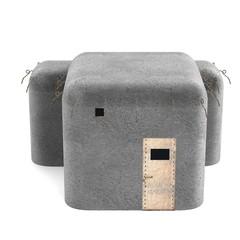realistic 3d render of bunker