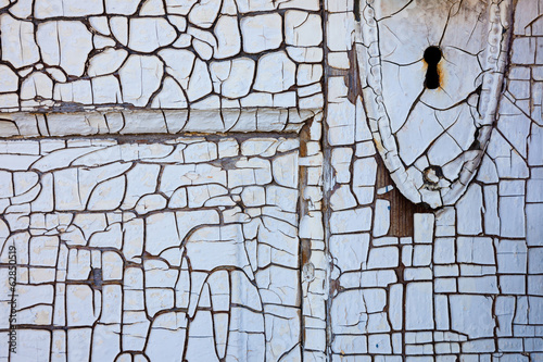 Detail of an old door, Shaniko, Oregon, USA